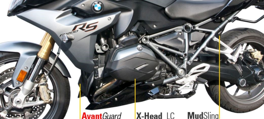 Machineart Moto protection for BMW R1200 liquid cooled